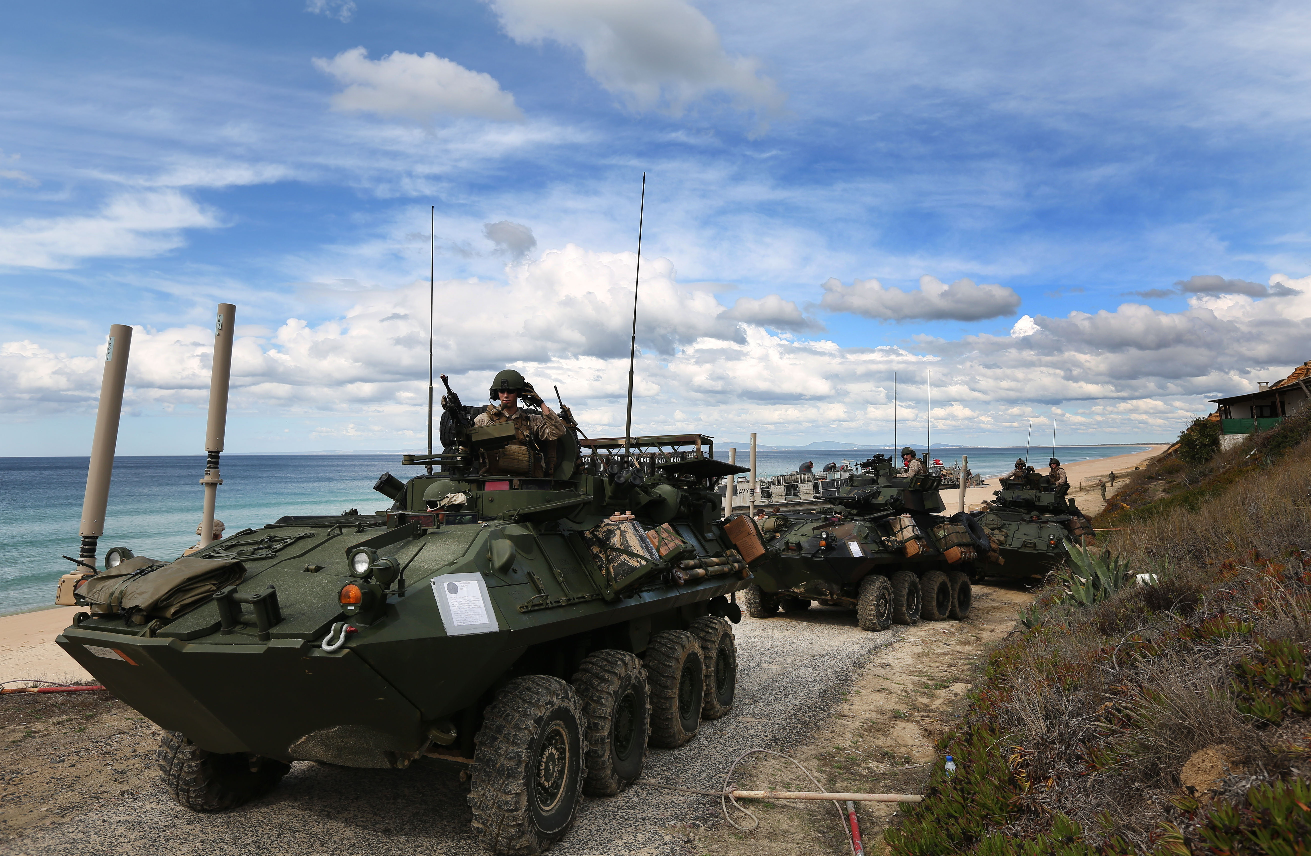 Trident Juncture 2015, die größte Nato-Übung seit dem Kalten Krieg und ein Warnsignal an Russland
