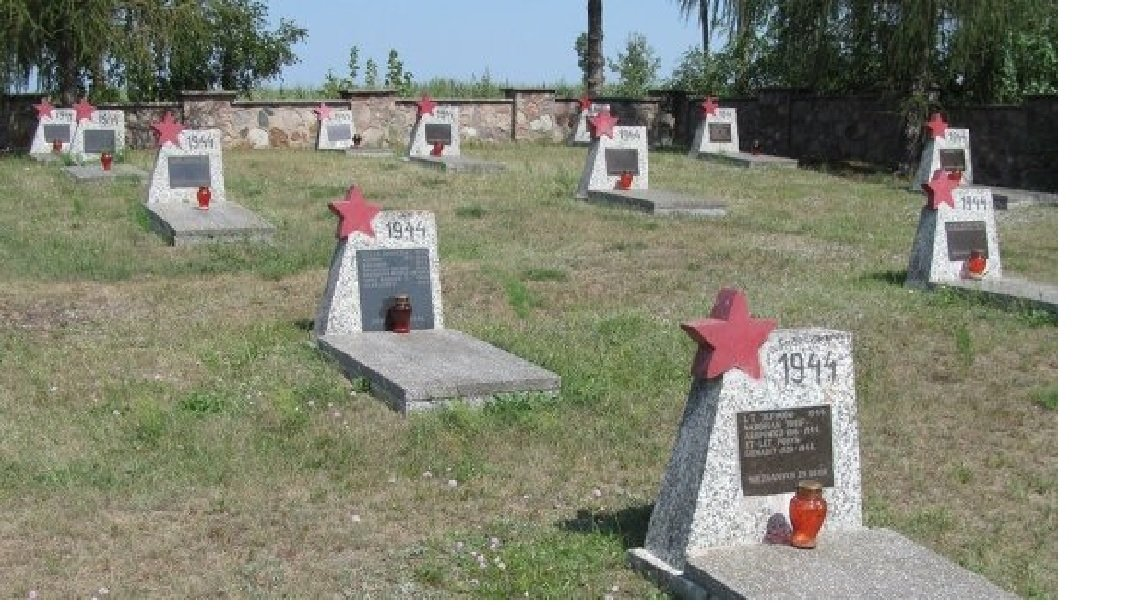 The tombstones of Soviet Army soldiers who died liberating Poland from Nazi invaders during WWII have been defaced in eastern Poland, Polish radio reported Friday