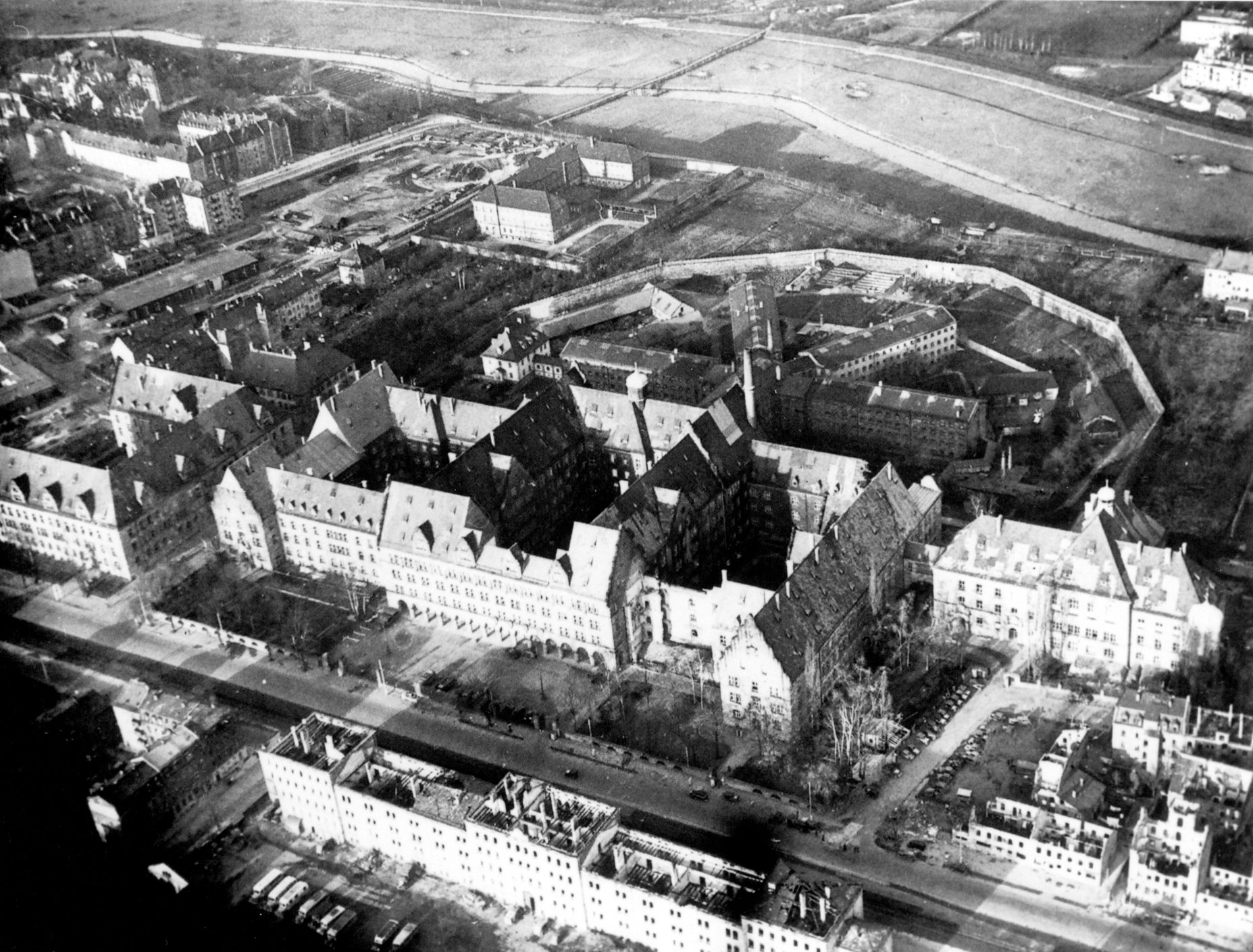 Нюрнбергский дворец юстиции, зима 1945/46 гг.