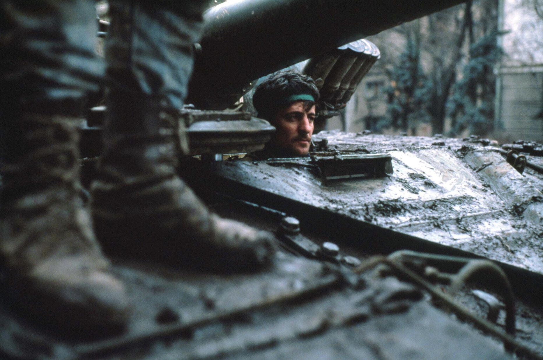 Erster Tschetschenien-Krieg in Bildern